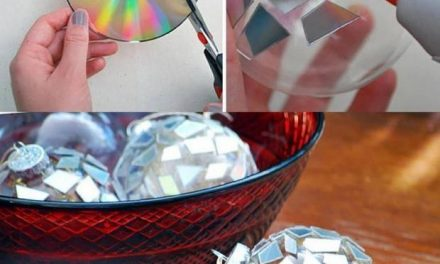 Instead Of Throwing Out Old CDs, You Can Turn Them Into Beautiful Crafts