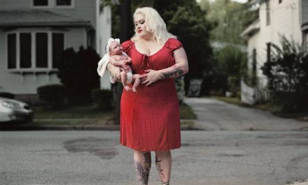 She May Look Like She's Holding A Baby, But The Truth Is So Creepy