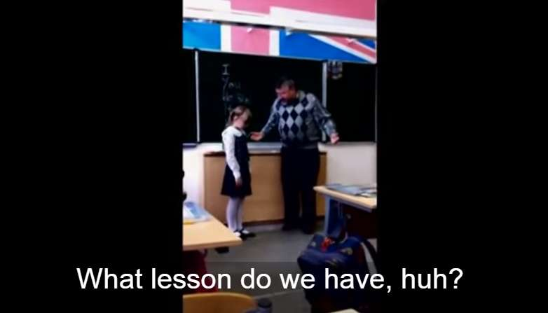 An Abusive Teacher Was Reaming This Little Girl, Only To Have Her Do This…OMG