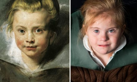 Children With Down Syndrome Recreate Old Paintings And They Will Melt Your Heart!