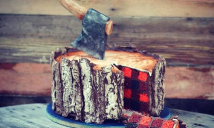 This Lumberjack Cake With A Plaid Inside Is A Dessert Lover's Fantasy