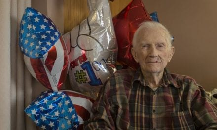 One Of The Last Marines Who Served In WW2 Celebrates 100th Birthday