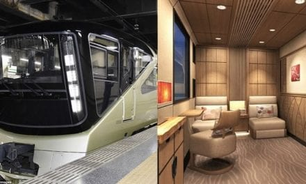 Japan's Train Suite Shiki-Shima Is The World's Most Luxurious Train. See What It's Like Inside.
