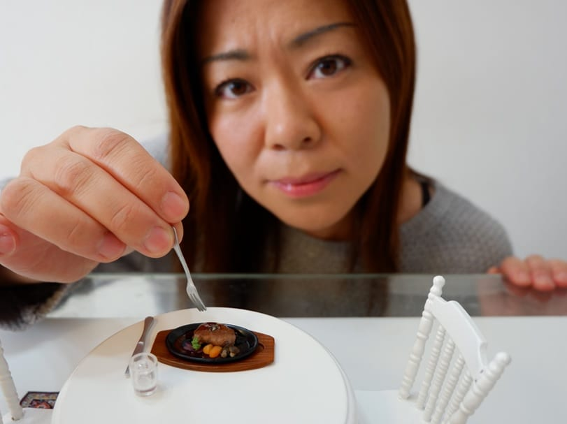 Youtuber From Japan Creates Mini Meals In Her Adorable Miniature Kitchen