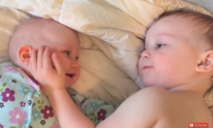 Watch This Big Brother Calm Down His Weepy Sister In The Most Adorable Way