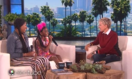 Ellen DeGeneres Invites 9-Year-Old Super-Fan To The Show And Showers Her With Unexpected Gifts