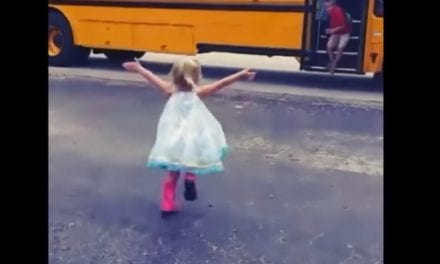 Little Girl Greets Her Big Brother With A Big Hug Ever Single Day After He Returns From School
