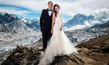 Adventurous Couple Gets Married On Mount Everest And The Photos Are Breathtaking
