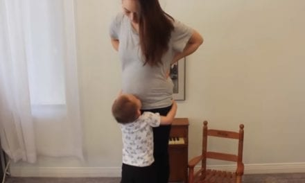 2-Year-Old Announces Mom's Pregnancy In The Most Adorable Way