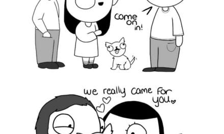 Artist Creates Adorable Relationship Comics That Every Couple Can Relate To
