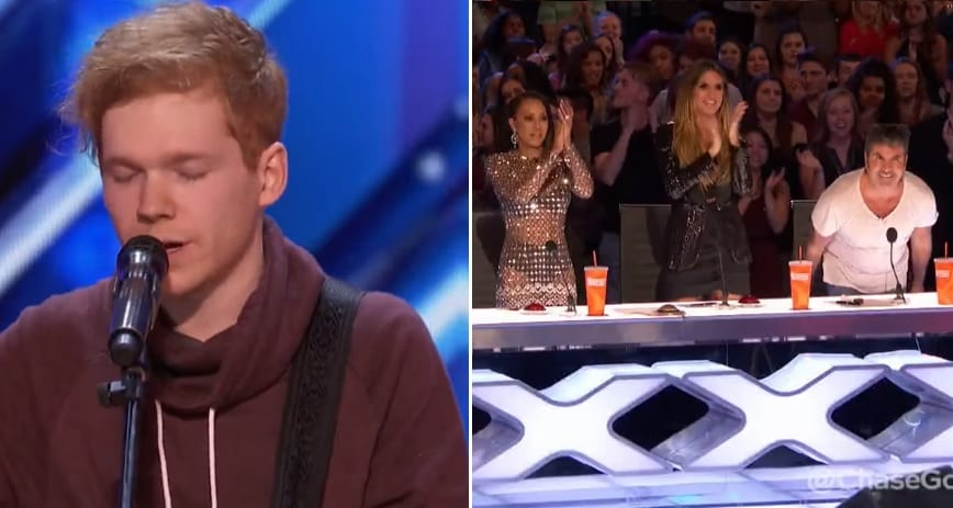 Tennessee Boy With A Guitar Amazes AGT Judges With His 'Unpredictable' Performance