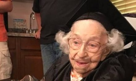 Grandma Receives High School Diploma At 105 Years Old