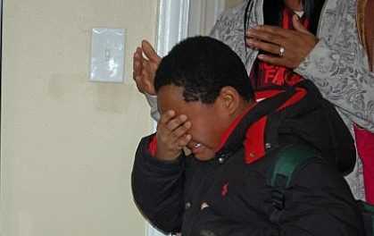 8-Year-Old Homeless Boy Gets His Very First Bed And Bursts Into Tears Of Joy