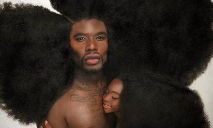 Father-Daughter Matching Hairdos Have Taken Over The Internet
