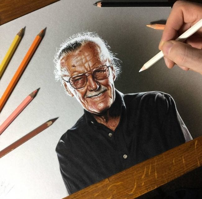 Artists Paid Tribute To The Famous Comic Artist Stan Lee In His Memory