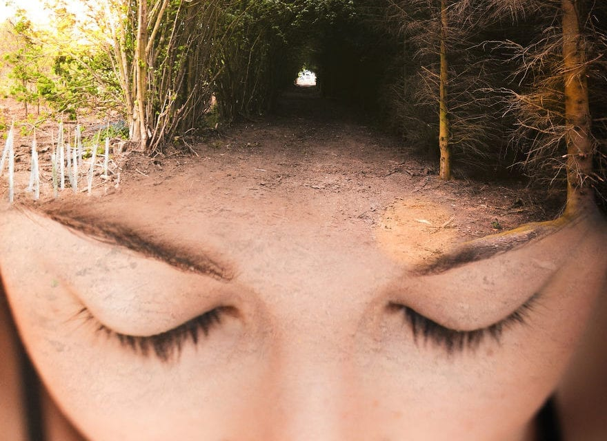 Artist Showed Relationship Between Human Body And Nature Through Her Photography