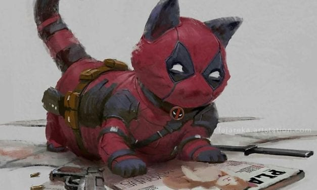 Cat-avengers: An Artist Re-imagined Cats as Marvel and Dc Superheroes