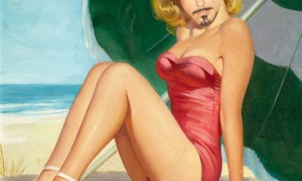 Photo Shopped Pictures Of Robert Downey Junior As A Pin-Up Girl