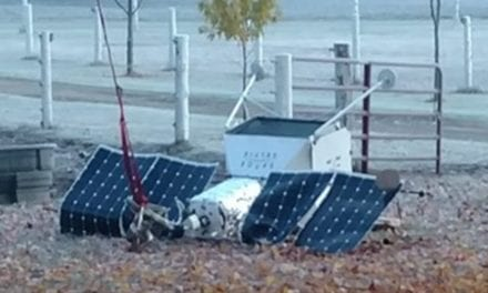Samsung Space Satellite Crashes onto Property in Michigan