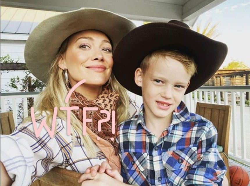 Hilary Duff Slams Baseless and 'Disgusting' Sex Trafficking Conspiracy theory Theory About Her 8-Year-Old Son