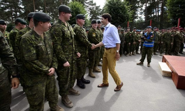 Canadian Troops in Latvia Remain on Target as COVID-19 Upends Other Missions