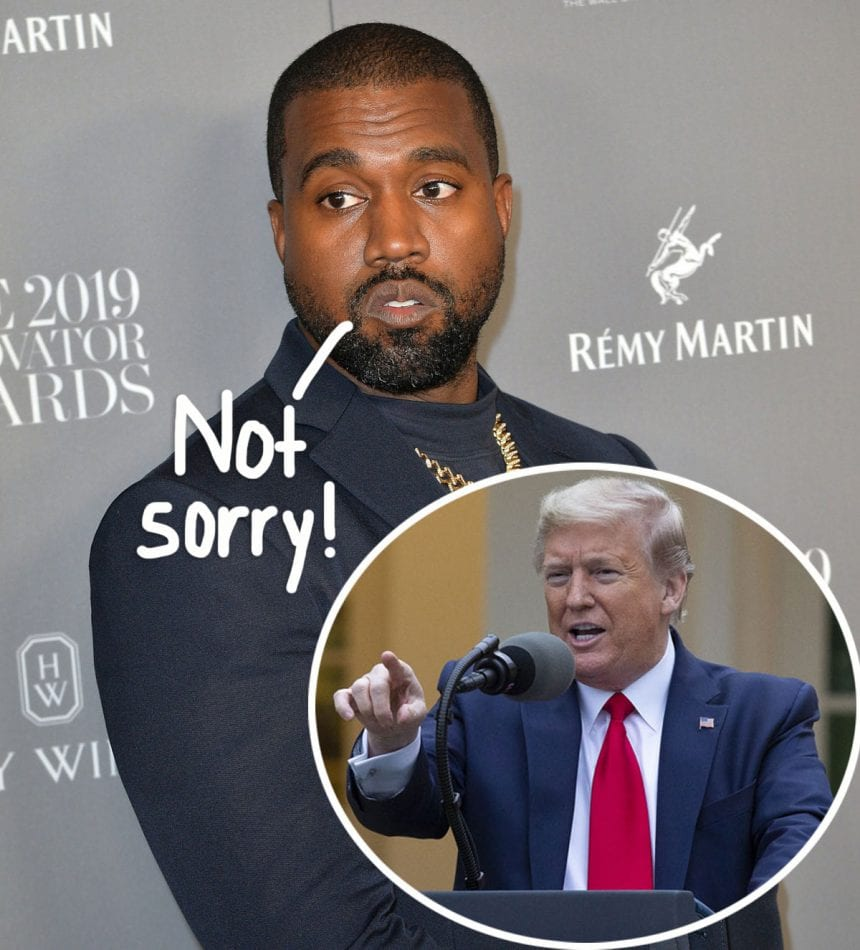 Kanye West states he will be voting intended for Donald Trump in the 2020 presidential election.