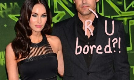 Megan Fox Spotted Out & About With Machine Gun Kelly As Brian Austin Green Posts SUPER Cryptic Message!