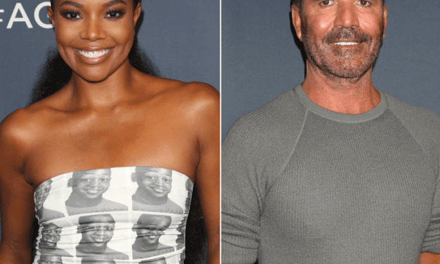 """Gabrielle Union Says Simon Cowell's Smoking Gave Her Bronchitis On The Set Of """"America's Obtained Talent"""""""