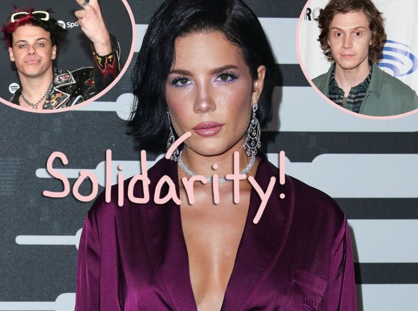 Halsey & Ex-BF Yungblud Amongst Celebs Spotted Protesting Law enforcement Brutality In Los Angeles
