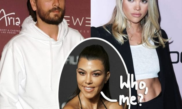 Kourtney Kardashian Played A Role Within Scott Disick & Sofia Richie's Breakup!