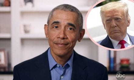 Barack Obama Shades Donald Trump In Calming Message In order to Americans