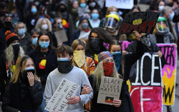 Melbourne BLM Protester Tests Beneficial for CCP Virus