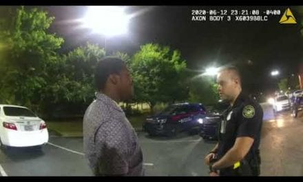 Entire body Cam Footage Moments Prior to Rayshard Brooks' Shooting Displays Man Cooperative With Police