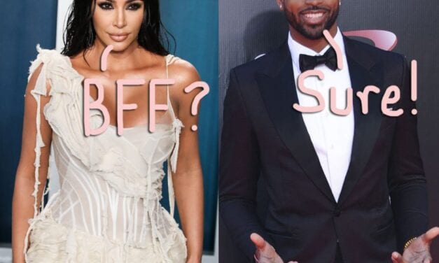The mind blowing kim kardashian Praises Tristan Thompson, States He's 'Trying Really Hard' A Year After Cheating Scandal