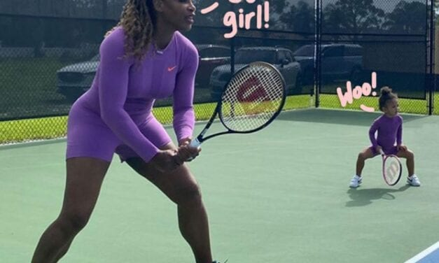 Serena Williams Shares Adorable Playing golf Pics With Her 2-Year-Old Daughter Alexis Olympia!