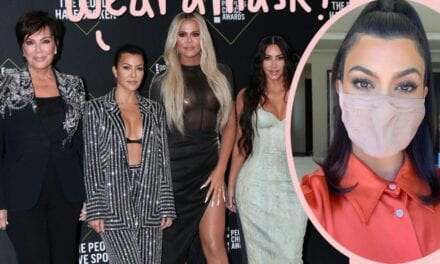 Kourtney Kardashian Challenges Her Household To #WearADamnMask — Right after Yet ANOTHER KarJenner Party With no!