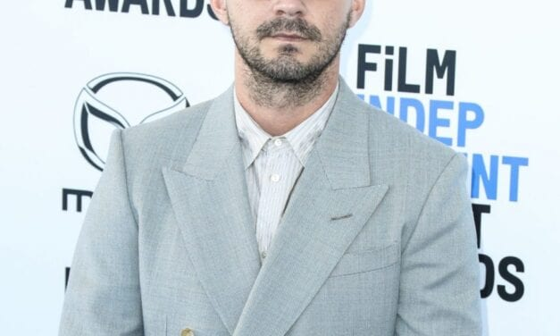 Shia LaBeouf's New Torso Tattoo designs Cause A Stir In Truck For The Tax Collector! Whoa!