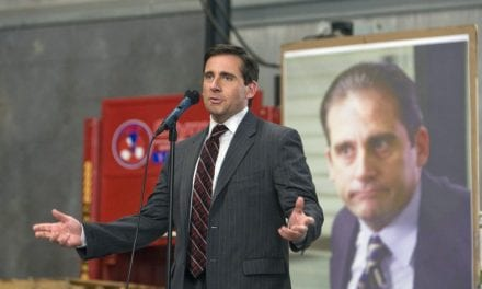 Sam Carell Improvised This Amusing Moment on 'The Office'