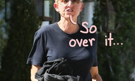 Ellen DeGeneres Is Reportedly 'Pissed That People Have Come Forward' Plus 'Wants Out Of The Show' AS SOON AS POSSIBLE!