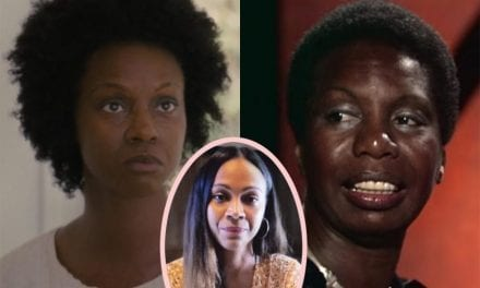 Dramatic Zoe Saldana Says The girl Never Should Have Tried To Enjoy Nina Simone