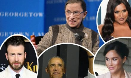 Famous people & Politicians React To Ruth Bader Ginsburg's Death