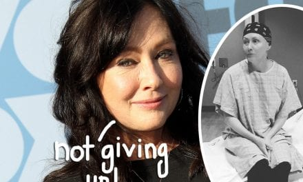 Shannen Doherty Isn't Ready To Go However — Read Her Psychological Interview About Stage 4 Cancer Battle