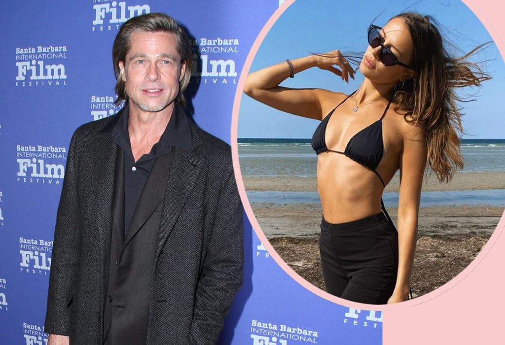 Brad Pitt Courting Model Nicole Poturalski