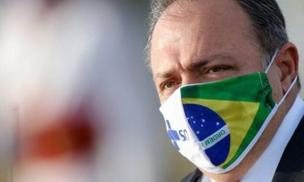 Brazilian Health Minister Hospitalized Along with COVID-19