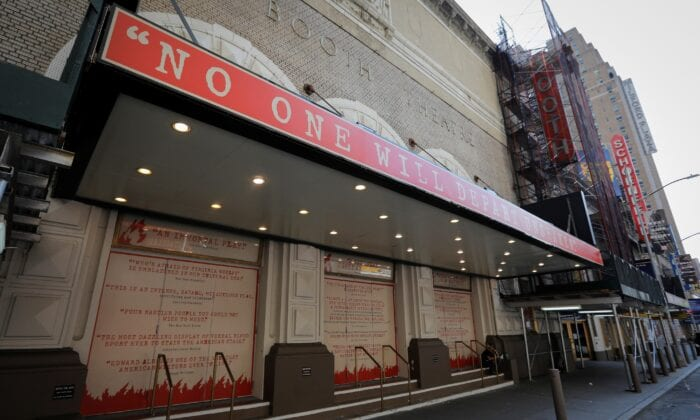 Broadway Theaters in NYC to stay Closed Through Late Might 2021