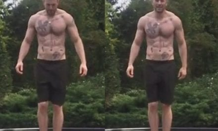 Bob Evans Has Fans Drooling Over Tattoos & Ab muscles In New Vid!
