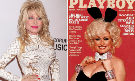 Junk Parton Is In Talks To Create For Playboy For Her 75th Birthday