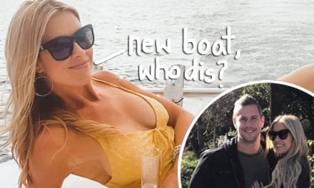 Christina Anstead Celebrates 'Aftermath' Associated with Split From Ant Anstead With Massive YACHT!