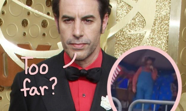 Sacha Baron Cohen: 'I Really Feared For My Life' At Right-Wing Rally Whilst Filming Borat 2
