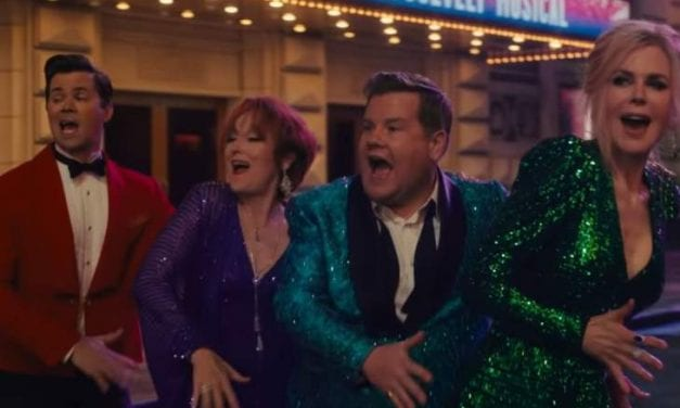 """Open up Post: Hosted By The Truck For Ryan Murphy's """"The Prom"""""""